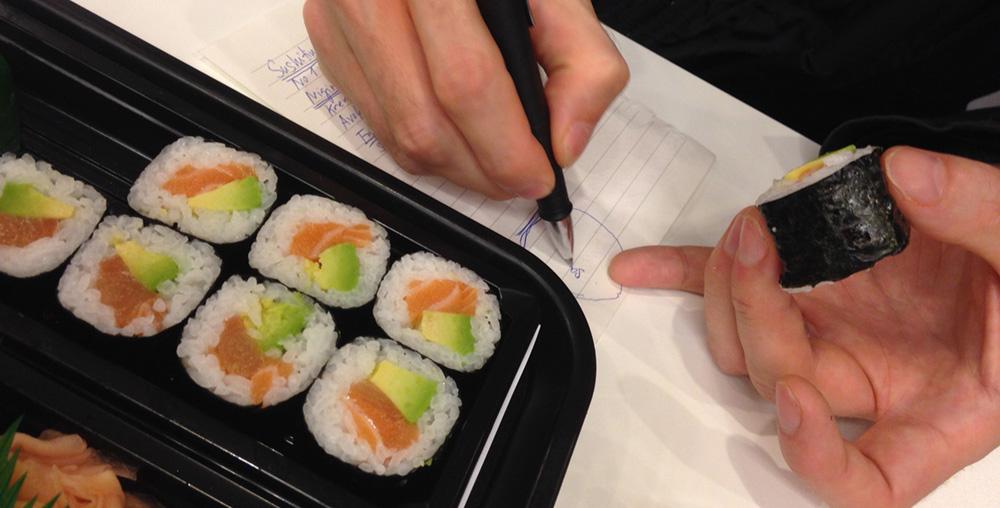 sushi-casting